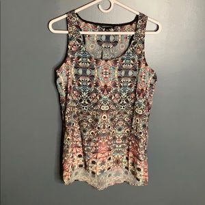 Rock & Republic patterned tank